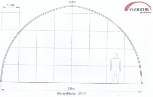 flexstal doorsnede E8